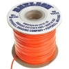 Vinyl Lacing Flat 100yds Orange
